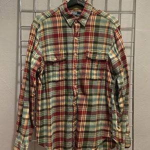 Polo Ralph Lauren Plaid Button-Up